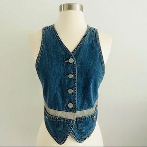 Vintage 90's Calvin Klein Jeans Denim Vest